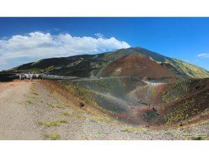 Etna Volcano - 3350m above sea level. Catania side